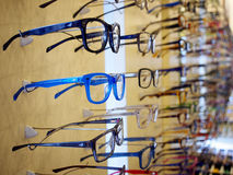 Glasses on sale Royalty Free Stock Photos