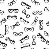 Glasses. Seamless pattern. Vector illustration Stock Image