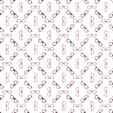 Glasses seamless pattern - vector spectacles Royalty Free Stock Photo