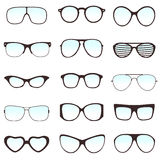 Glasses  set Royalty Free Stock Photos