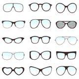 Glasses Set Royalty Free Stock Photos