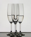 Glasses. Set of glasses in dark color Royalty Free Stock Photos