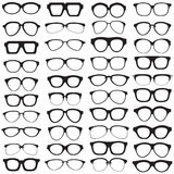 Glasses set Royalty Free Stock Image