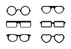 Glasses Stock Image