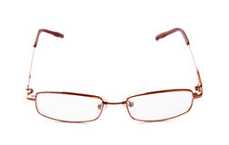 Glasses for sight isolated on a white background Stock Photo