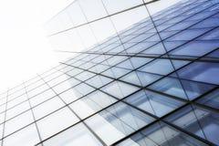 Glasses of skyscraper Stock Images