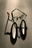Glasses. Spectacles. Old glasses on the table Royalty Free Stock Image