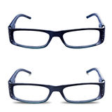 Glasses Spectacles Front Isolated Royalty Free Stock Image