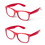 Glasses Spectacles Red Perspective  Royalty Free Stock Photos