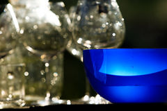 Glasses stemware Royalty Free Stock Image