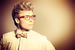 Glasses style Royalty Free Stock Image