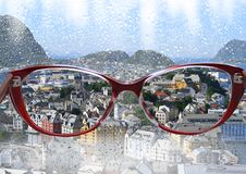 Glasses, sunglasses, isolated, fashion, white, eye, eyeglasses, summer, sun, spectacles, optical, black, sky, glass, reflection, l. Optical red glasses enhance royalty free stock images