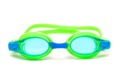 Glasses for swim on white background Stock Images