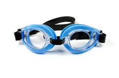 Glasses for swimming. Isolated on a white background royalty free stock photo