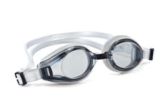 Glasses for swimming. Isolated on a white background stock photo