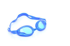 Glasses for swimming Isolated on a white. Background stock photography