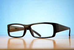 Glasses on the table Royalty Free Stock Photos