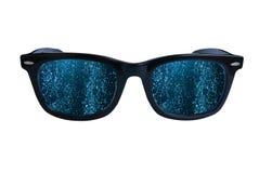 Glasses underwater Stock Photo