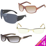 Glasses vector Royalty Free Stock Photo