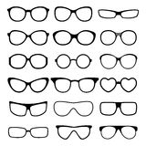 Glasses vector set. Stock Image