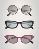 Glasses vintage Stock Photos