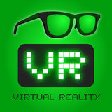 Glasses virtual reality Royalty Free Stock Images