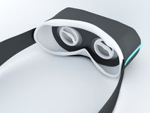 Glasses for virtual reality in 3D. Royalty Free Stock Image