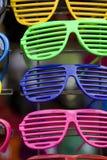 Glasses in vitrina Royalty Free Stock Image