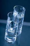 Glasses  of water Stock Image
