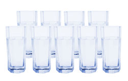 Glasses of Water Royalty Free Stock Images
