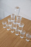 Glasses of water Royalty Free Stock Photography