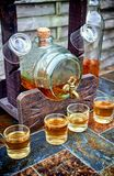 Alcohol,taste and drink concept. Stock Photo