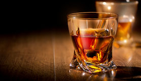 Glasses of whiskey Royalty Free Stock Photography