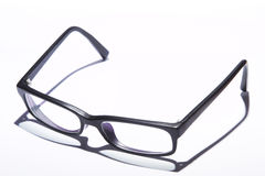Glasses  on white Royalty Free Stock Images