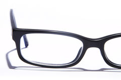 Glasses  on white Royalty Free Stock Photos