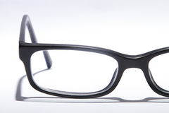 Glasses  on white Stock Photos