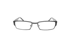 Glasses on white background Stock Images