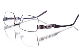 Glasses. On a white background Royalty Free Stock Photo
