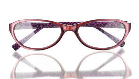 Glasses. On a white background Royalty Free Stock Photography