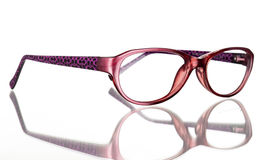 Glasses. On a white background Stock Images