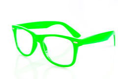 Glasses  on white background accesories Stock Photos