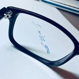 Glasses on a white sheet of paper Royalty Free Stock Images