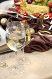 Glasses wine Royalty Free Stock Photo