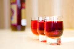 Glasses Of Wine. Background possible to use for printing and project Stock Photo