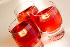 Glasses Of Wine. Background possible to use for printing and project Stock Image