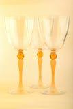 Glasses for wine Stock Photo