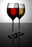 Glasses of wine Stock Photo
