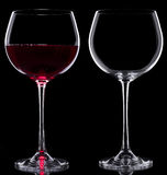 Glasses of wine Stock Photos