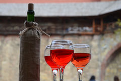 Glasses of wine Royalty Free Stock Photo