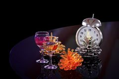 New Year`s still-life. Royalty Free Stock Images